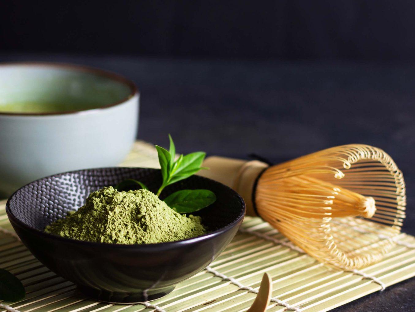 Matcha tea, výtečný 100% zelený čaj
